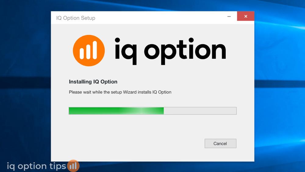 Cài đặt IQ Option cho laptop mới nhất 2020
