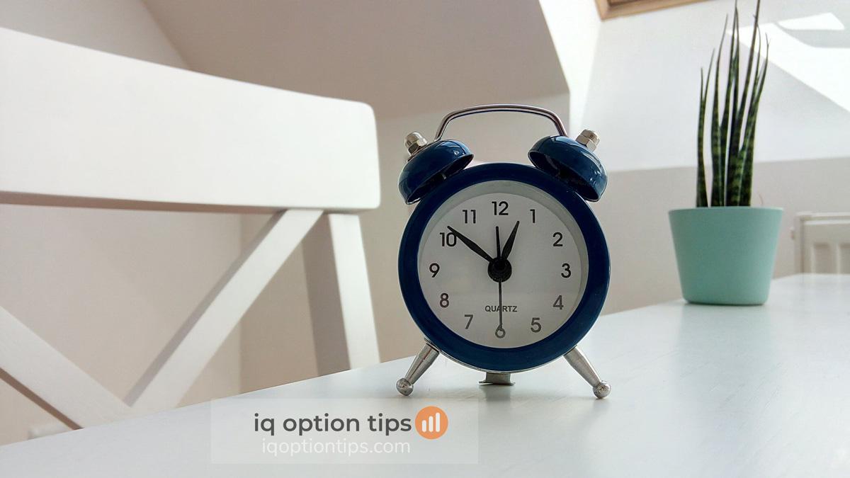 Hướng dẫn chọn thời gian giao dịch hay thời gian kết thúc lệnh tại IQ Option